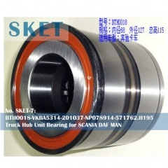 BTH0018-VKBA5314-201037-NP078914-571762.H195 Truck Hub Unit Bearing for SCANIA DAF MAN
