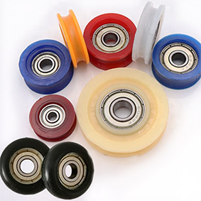 Plastic Coated Bearing Pulley
